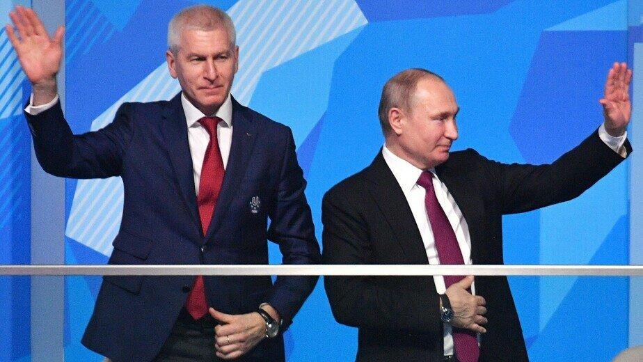 Министр спорта Олег Матыцин | Фото: kremlin