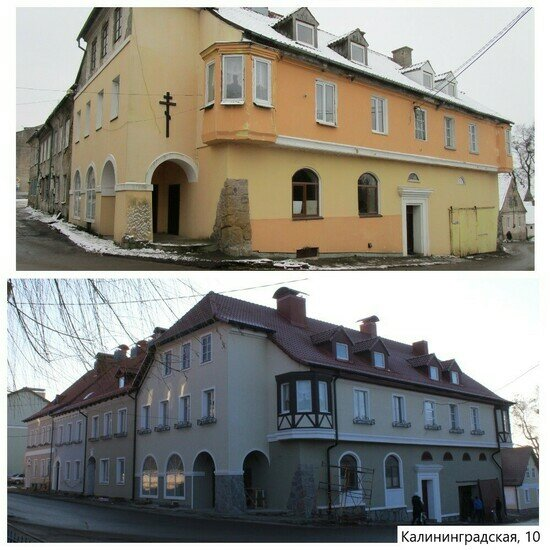 Дома восстанавливали по архивным снимкам: как изменился Железнодорожный после капремонта (фото) - Новости Калининграда