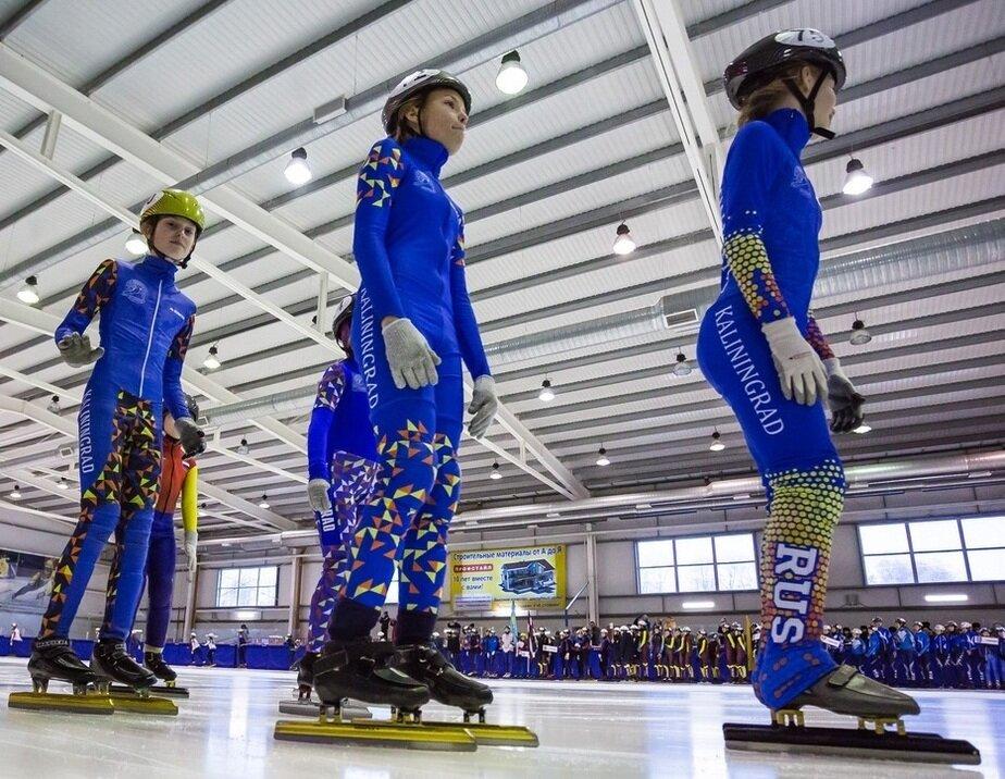 Калининградские конькобежцы завоевали 19 наград на международном турнире - Новости Калининграда | Фото: пресс-служба регионального правительства