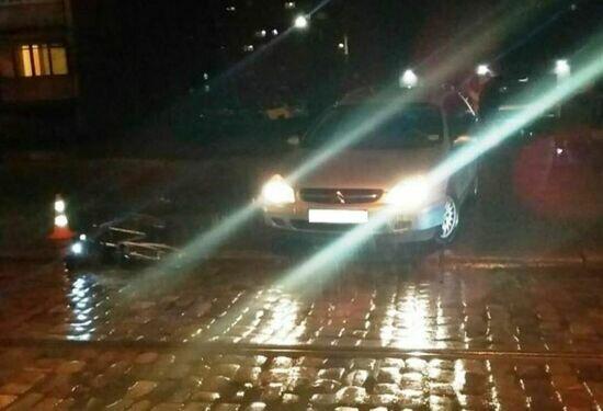 На ул. Багратиона сбили велосипедиста, у пострадавшего перелом ноги - Новости Калининграда | Фото: пресс-служба регионального УМВД