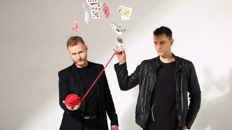 Ведущие шоу Илья Ларионов и Евгений Прейс | Фото предоставлено организаторами