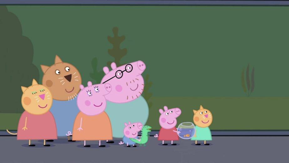 В гости к Серой шейке и свинке Пеппе: куда на выходных отправиться с детьми - Новости Калининграда | Изображение: кадр из мульфильма