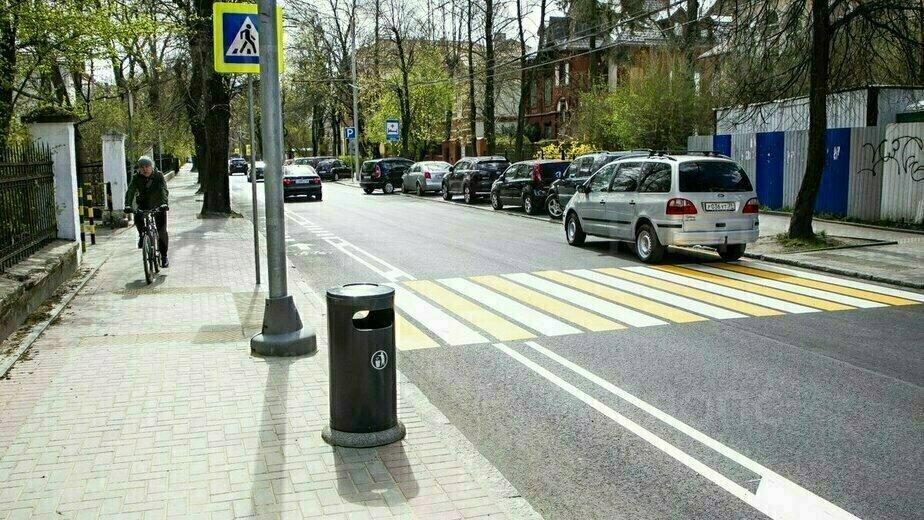 Новая велодорожка на ул. Комсомольской: за и против - Новости Калининграда | Фото: Александр Подгорчук