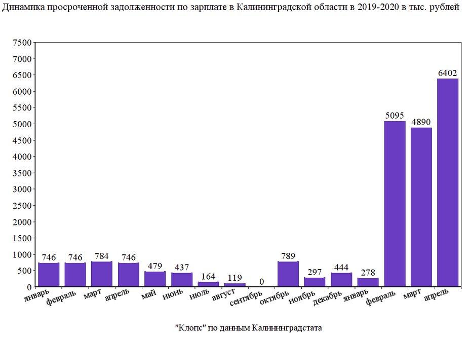 Долги по зарплате в регионе увеличились в 8,5 раз - Новости Калининграда