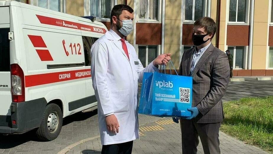 В Калининграде прошла благотворительная акция в поддержку наших врачей, противостоящих пандемии коронавируса - Новости Калининграда