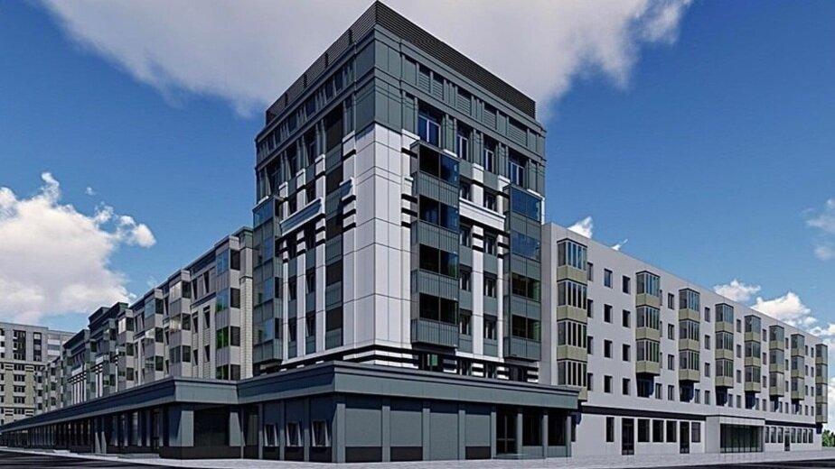 Эскиз многоэтажки на Ленинском проспекте после планируемого ремонта | Фото: Фонд капитального ремонта Калининградской области / Facebook