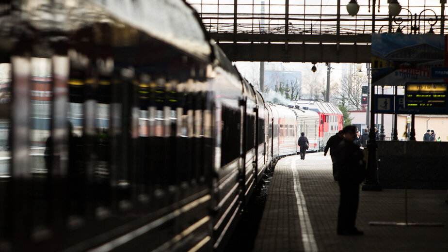 """Минтранс назвал возможные сроки восстановления железнодорожных перевозок - Новости Калининграда   Архив """"Клопс"""""""