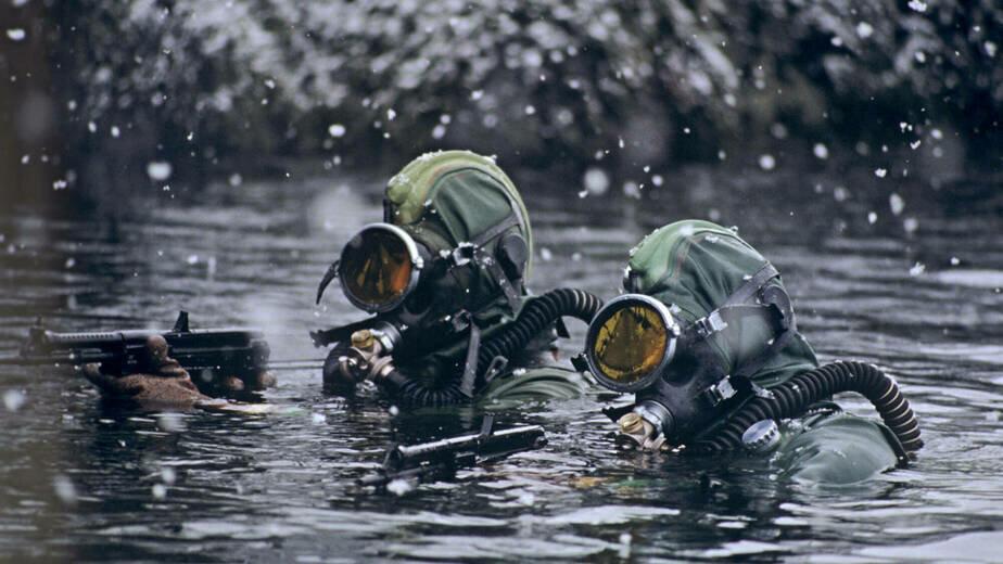На побережье Балтики военные уничтожили условных террористов - Новости Калининграда | Фото: пресс-служба ЗВО по Балтийскому флоту