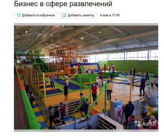 В Калининграде за 25 млн рублей продают крупный парк развлечений - Новости Калининграда | Скриншот сайта Avito