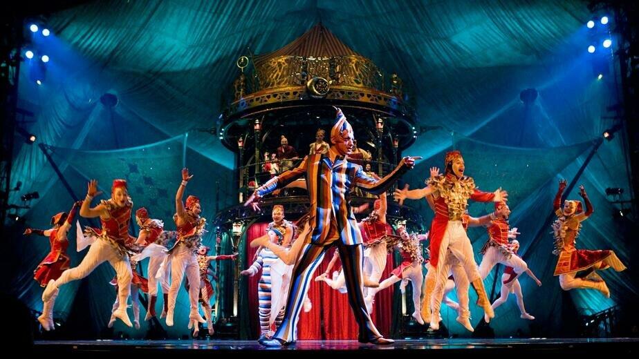 Ледовое, шаманское, волшебное: пять бесплатных онлайн-шоу от Cirque du Soleil - Новости Калининграда | Стоп-кадр из одного из шоу