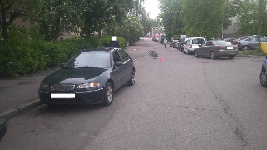 В Калининграде сбили девятилетнюю девочку, выехавшую на дорогу на роликах (видео) - Новости Калининграда | Фото: пресс-служба регионального УМВД