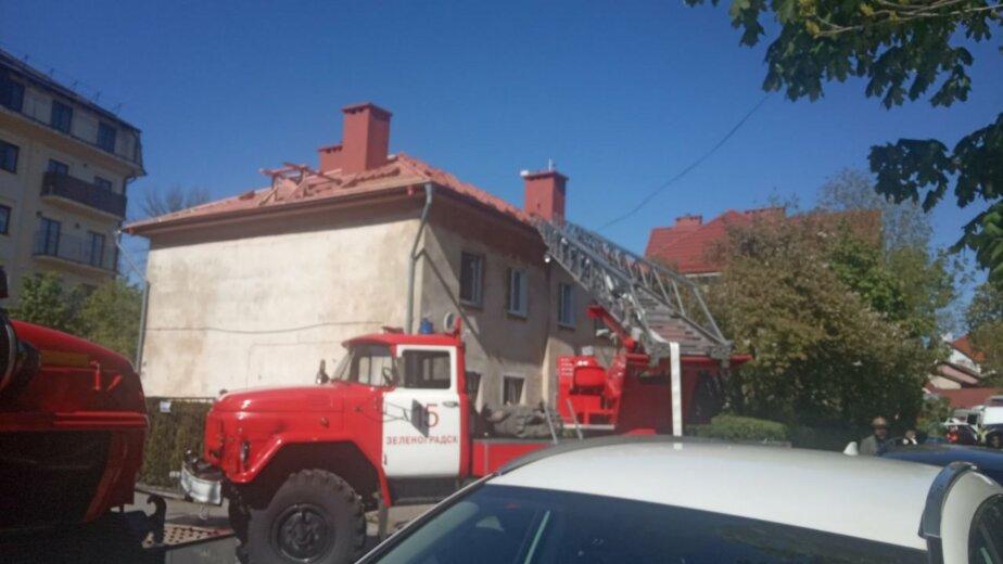 Во время пожара в зеленоградской квартире погиб пожилой хозяин - Новости Калининграда | Фото: очевидец