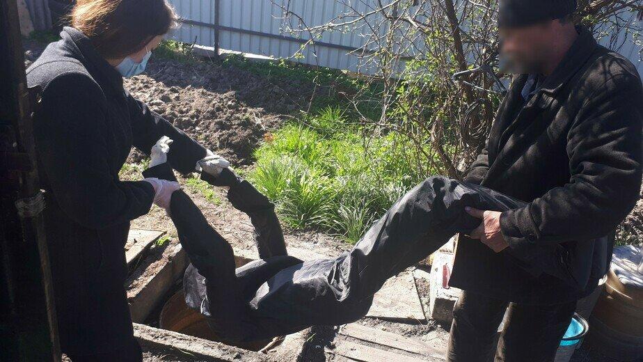 В Калининграде будут судить мужчину, который помог спрятать в колодце тело убитого приятеля - Новости Калининграда   Фото: региональный СКР