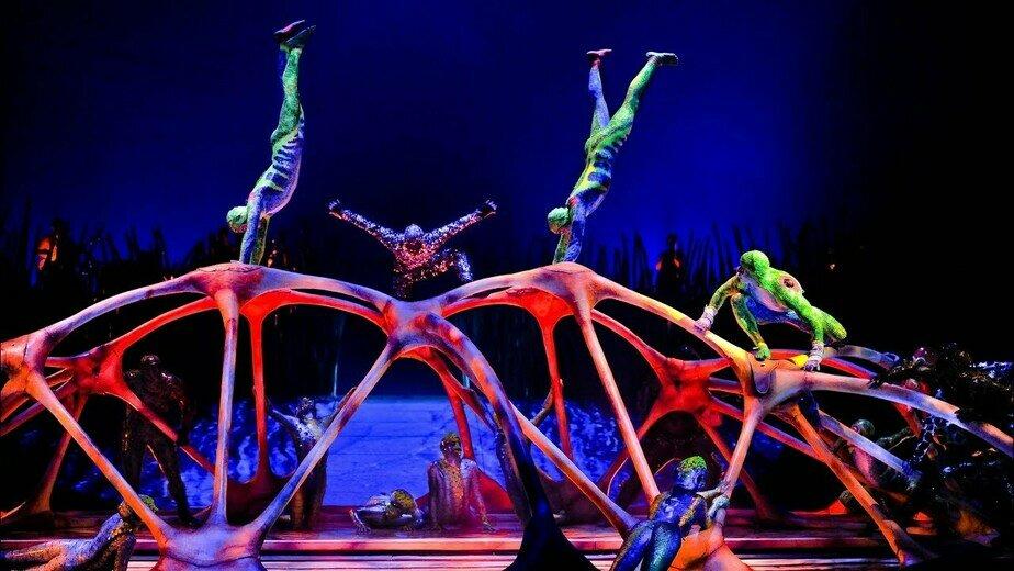 Cirque du Soleil покажет лучшие моменты трёх шоу - Новости Калининграда | Кадр из шоу Totem