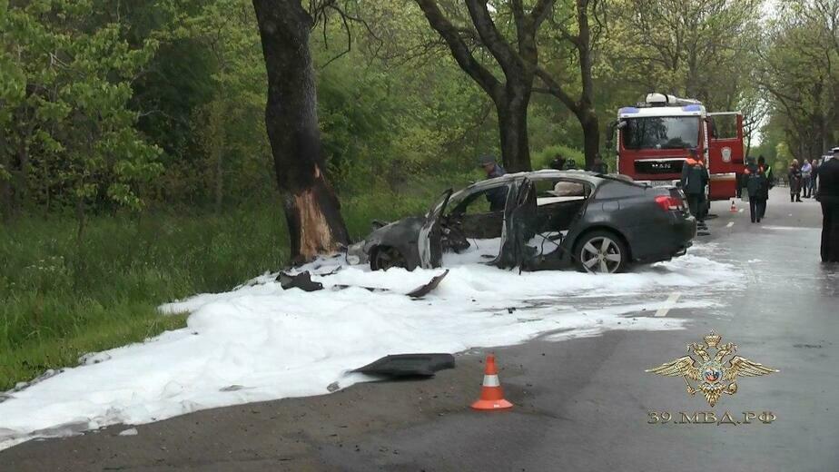 Суд арестовал устроившего ДТП с двумя погибшими на балтийской трассе водителя Lexus  - Новости Калининграда | Фото: пресс-служба регионального УМВД