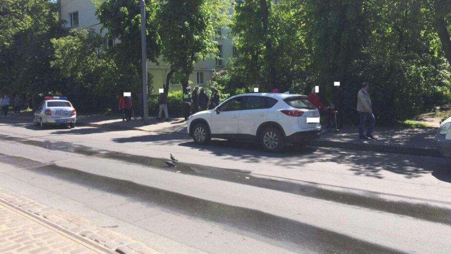 Во дворе на Багратиона насмерть сбили 92-летнюю пенсионерку - Новости Калининграда | Фото: пресс-служба регионального УМВД