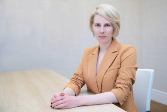 На фото: Анна Тышецкая | Фото: пресс-служба БФУ им. И. Канта