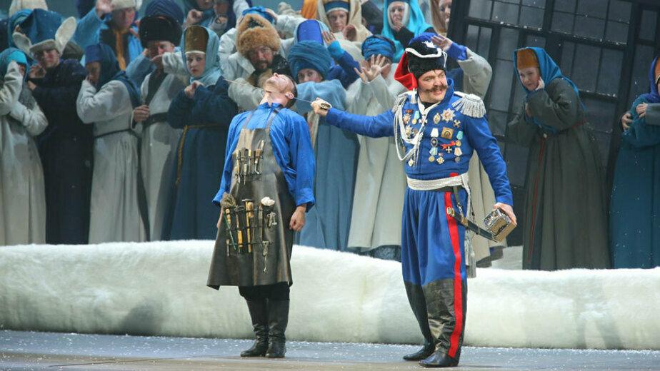 Мариинский театр провёл сотый показ с начала самоизоляции (видео) - Новости Калининграда   Кадр из видео