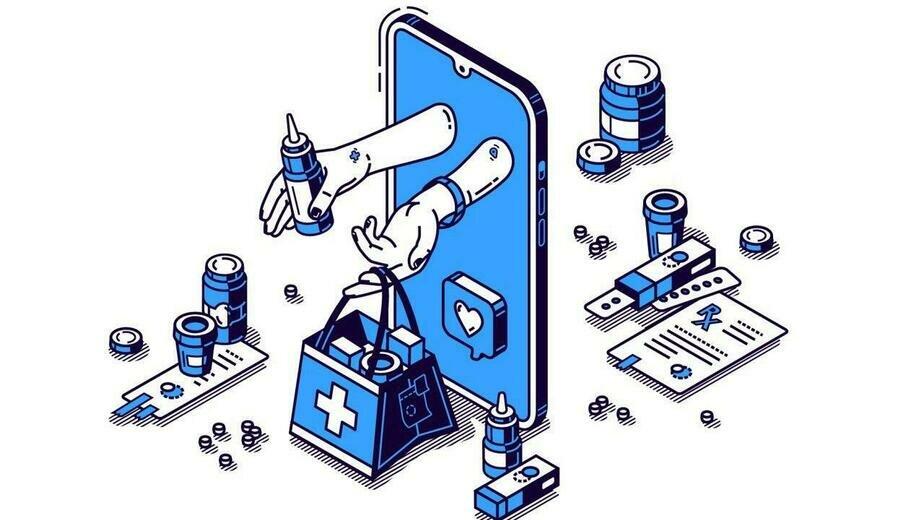 Врач на удалёнке: как развивается телемедицина и что ей мешает  - Новости Калининграда | Фото: freepik