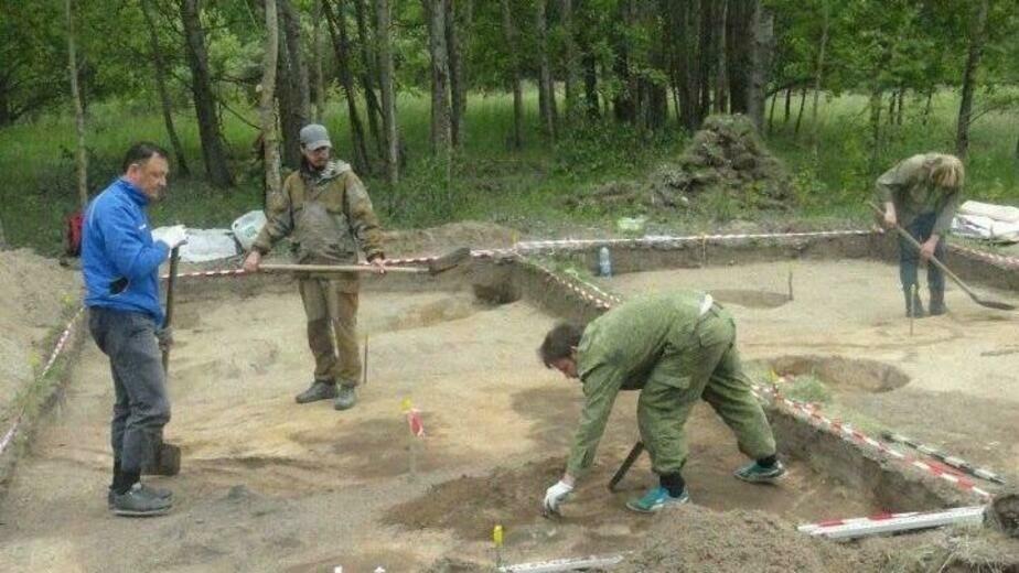 Под Багратионовском нашли могилы женщины и ребёнка начала первого тысячелетия - Новости Калининграда | Фото: Игорь Самарин
