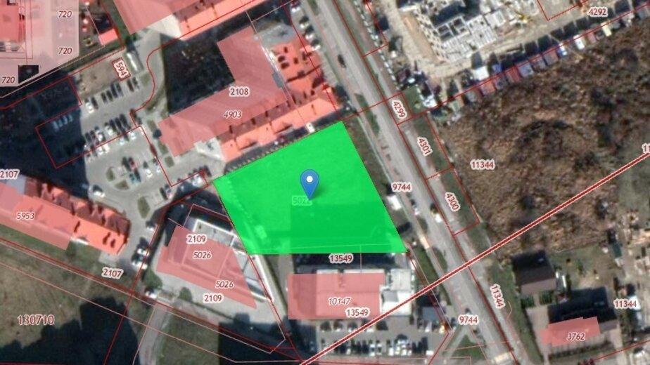 На улице Панина в Калининграде разрешили построить трёхэтажный медцентр   - Новости Калининграда   Скриншот кадастровой карты