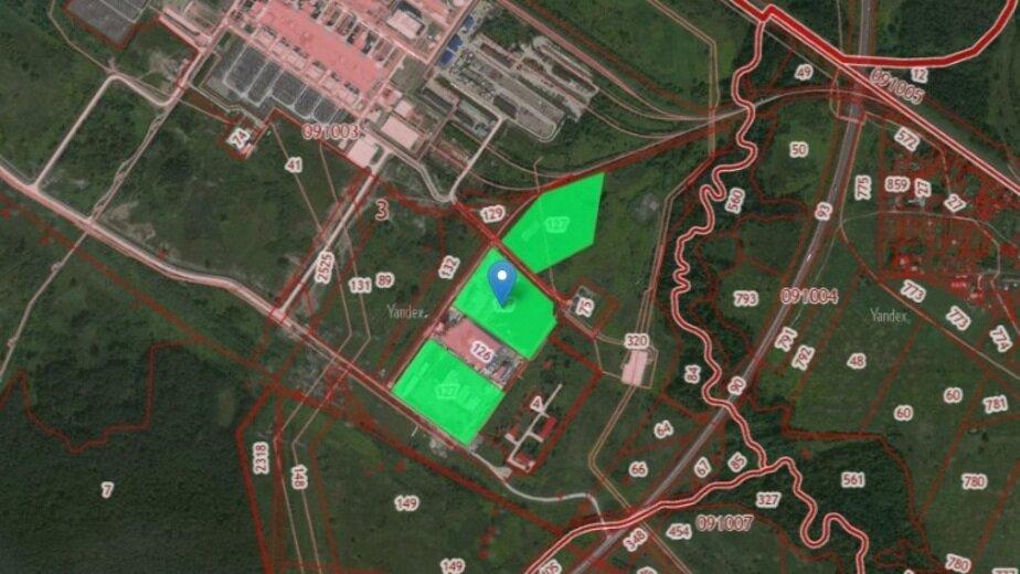 В Калининграде планируют открыть новый производственный цех - Новости Калининграда | Скриншот кадастровой карты
