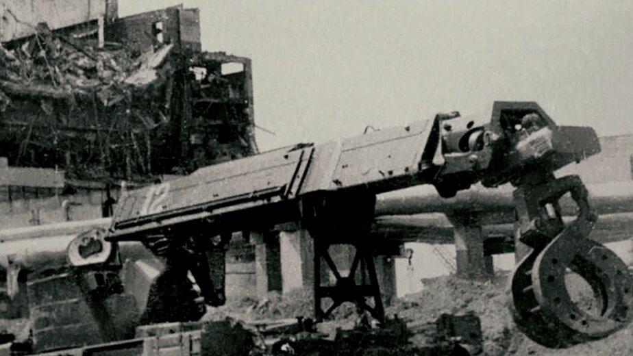Чернобыль. Взорвавшийся энергоблок   Фото: Музей Калининградского филиала Санкт-Петербургского университета МВД России