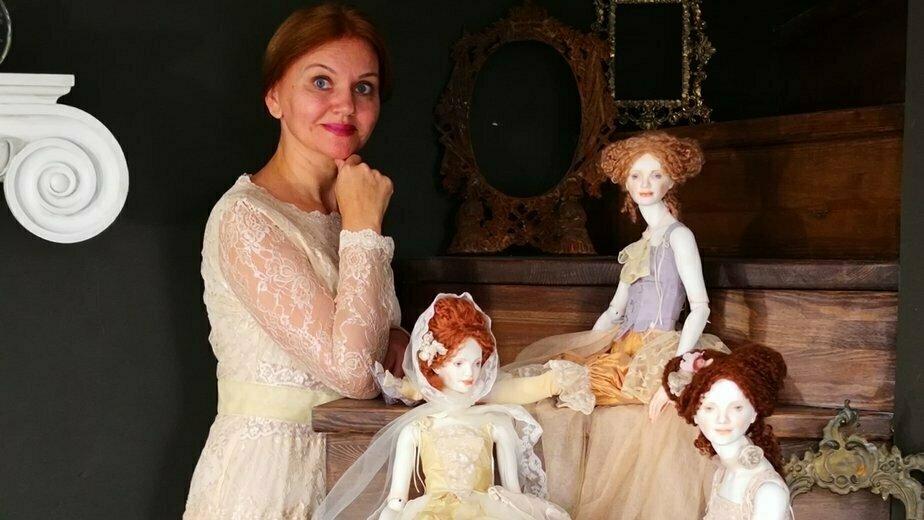 Калининградка стала членом профессиональной ассоциации художников NIADA, представив коллекцию фарфоровых кукол (фото) - Новости Калининграда | Фото: личный архив Оксаны Сахаровой