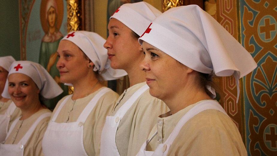 В Калининграде впервые выпустили сестёр милосердия - Новости Калининграда | Фото: пресс-служба правительства Калининградской области