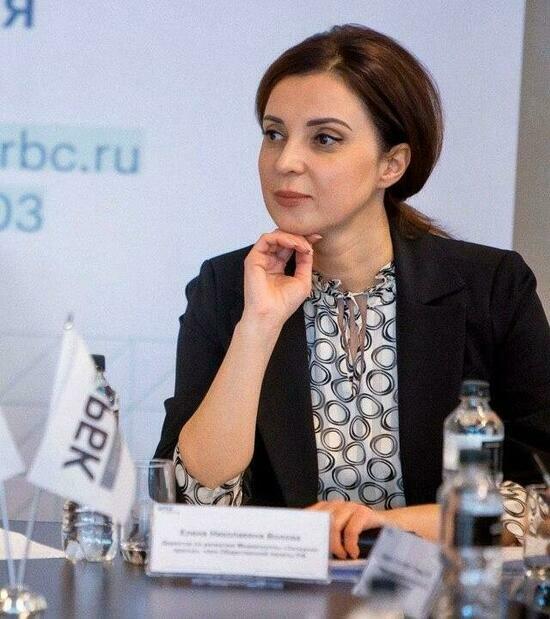 На фото: Елена Волова