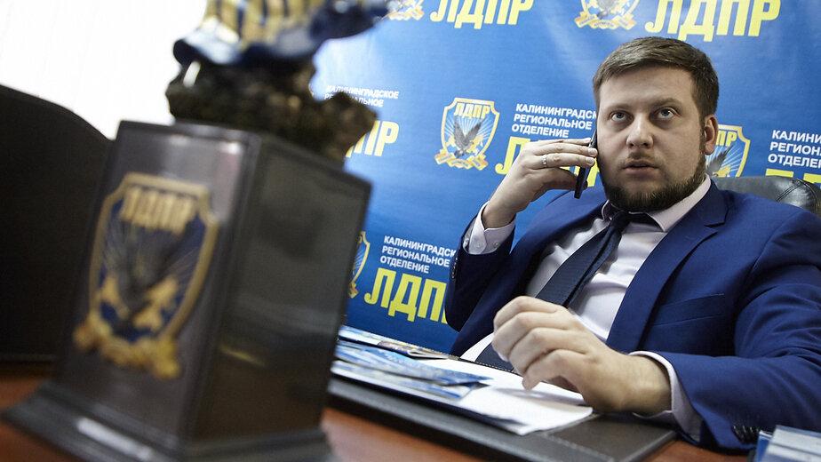 На фото: Евгений Мишин