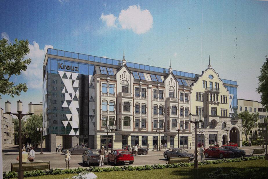 Проект восстановления здания
