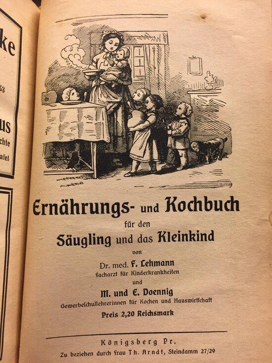 Кёнигсбергская поваренная книга | Фото: Светлана Колбанёва