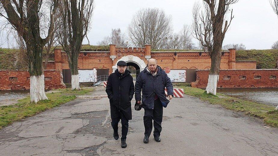 Алексей Иванов в Форте №5 | Фото: Юлия Зайцева