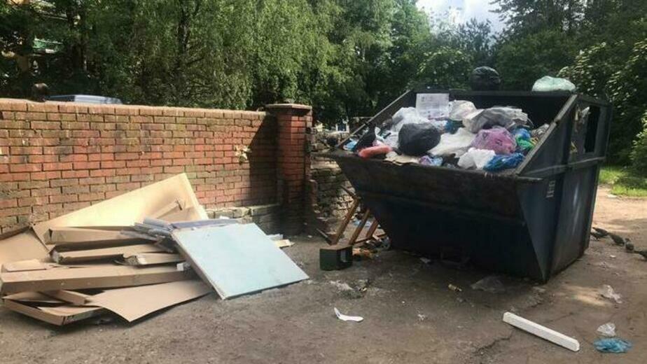 В мэрии Калининграда объяснили плохое санитарное состояние контейнерных площадок - Новости Калининграда | Фото: ЕСОО