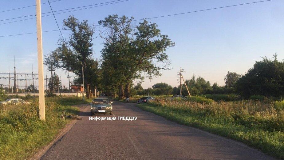 Фото с места одного из ДТП | Фото: пресс-служба УМВД России по Калининградской области