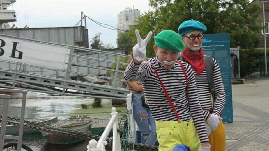 На набережной Музея Мирового океана состоится День тельняшки - Новости Калининграда | Фото: пресс-служба Музея Мирового океана