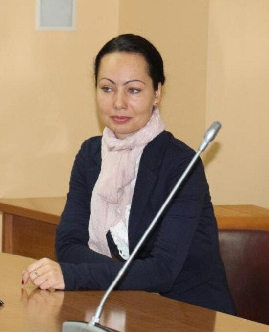 На фото: Анна Луконина | Фото: пресс-служба городской администрации