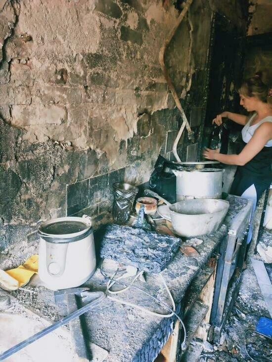 В МЧС назвали причину пожара в квартире многодетной семьи на Комсомольской - Новости Калининграда   Фото: Наталья
