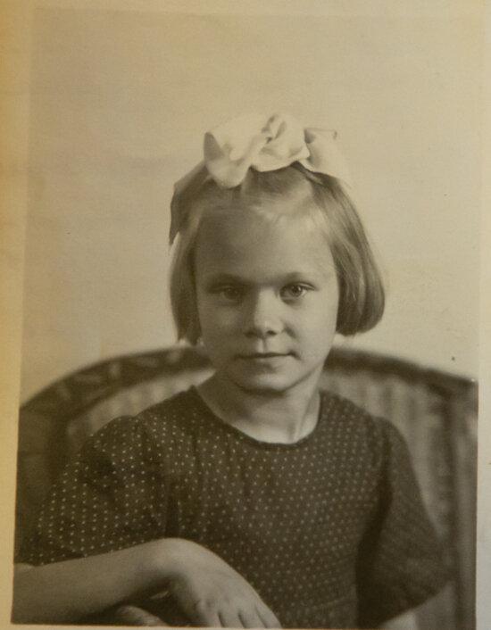 Детская фотография Антонины Анатольевны | Фото: личный архив А.А. Максимовой