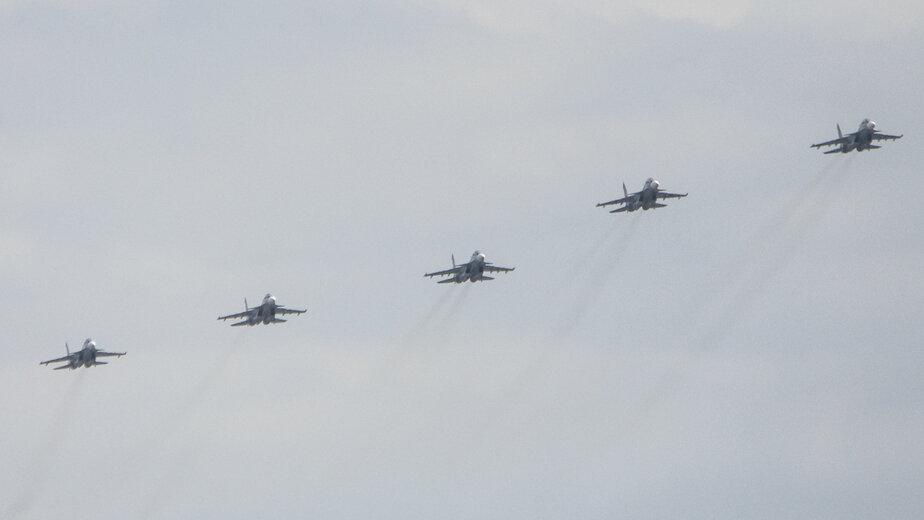"Су-27 перехватили американский бомбардировщик над Балтийским морем - Новости Калининграда | Архив ""Клопс"""