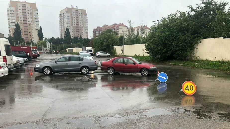На парковке в Калининграде сбили 49-летнюю женщину - Новости Калининграда | Фото: пресс-служба УМВД России по Калининградской области