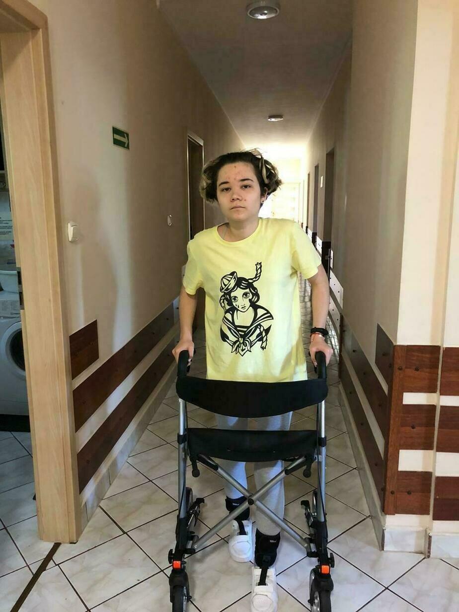 Ученица ШИЛИ, на которую упал шкаф, впервые рассказала о трагедии, реабилитации и неоправдавшихся прогнозах врачей - Новости Калининграда | Фото из семейного архива