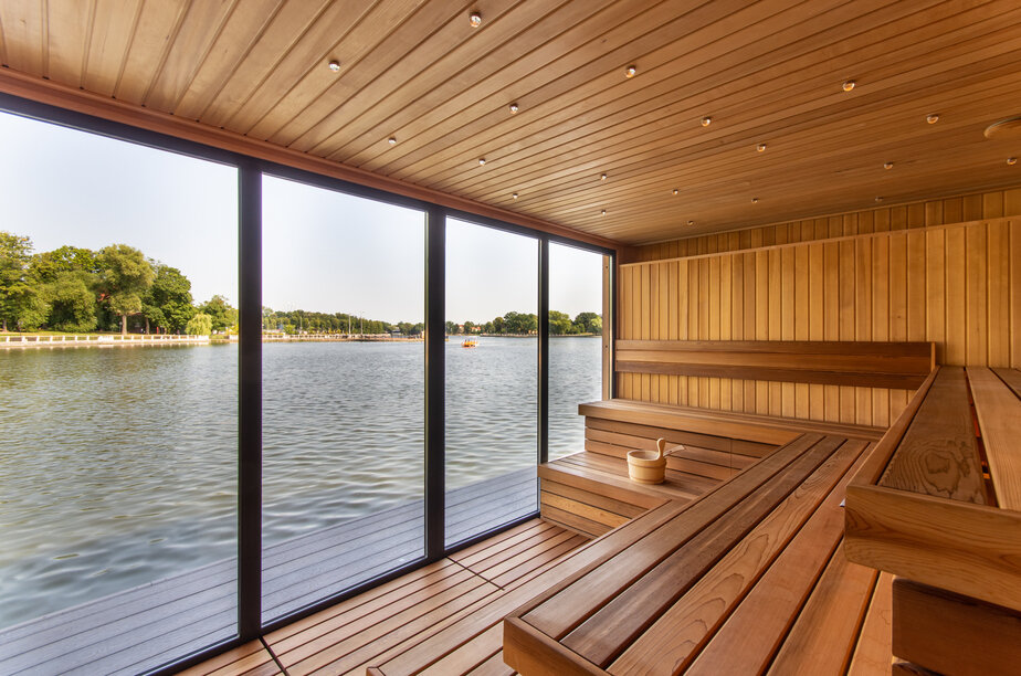 В Калининграде появился уникальный водный центр на Верхнем озере - Новости Калининграда