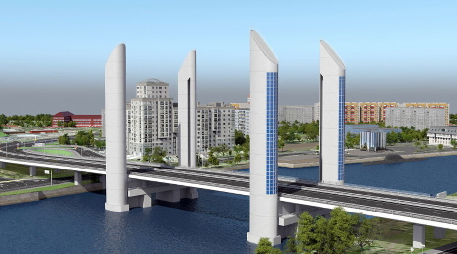 """Алиханов рассказал, когда начнётся строительство дублёра двухъярусного моста - Новости Калининграда   Архив """"Клопс"""""""