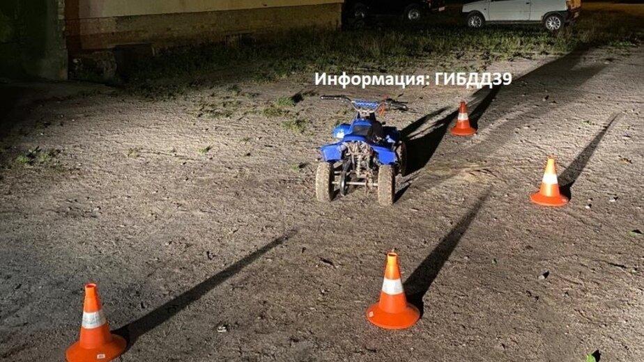 В Черняховском районе восьмилетний мальчик перевернулся на квадроцикле - Новости Калининграда | Фото: ГИБДД региона