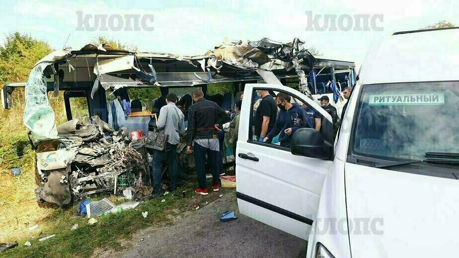 Смертельная авария с рейсовым автобусом под Янтарным - Новости Калининграда | Фото: Александр Подгорчук