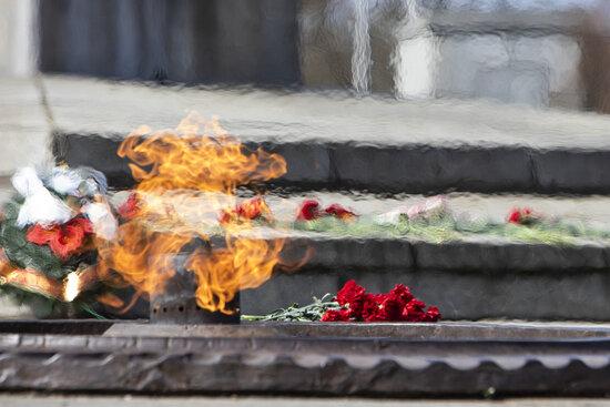 """Почему на этом месте и как строили: семь малоизвестных фактов о мемориале 1 200 гвардейцам, открытом 75 лет назад - Новости Калининграда   Архив """"Клопс"""""""