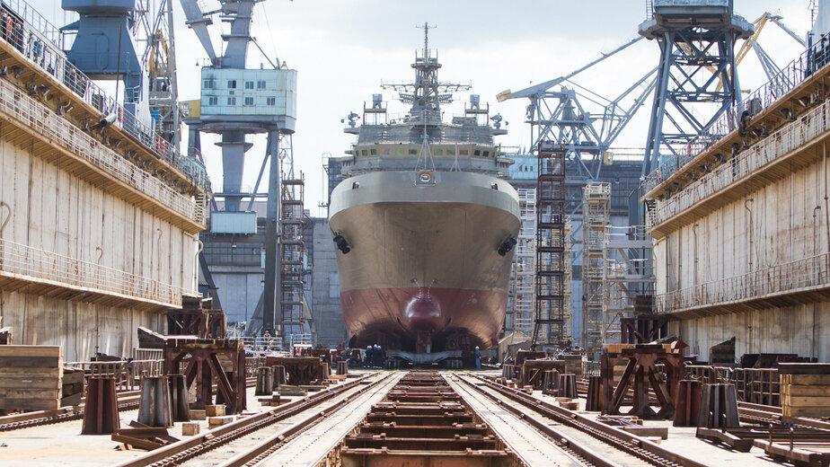 В Калининграде пришвартовался большой десантный корабль с 41 членом экипажа с COVID-19 - Новости Калининграда