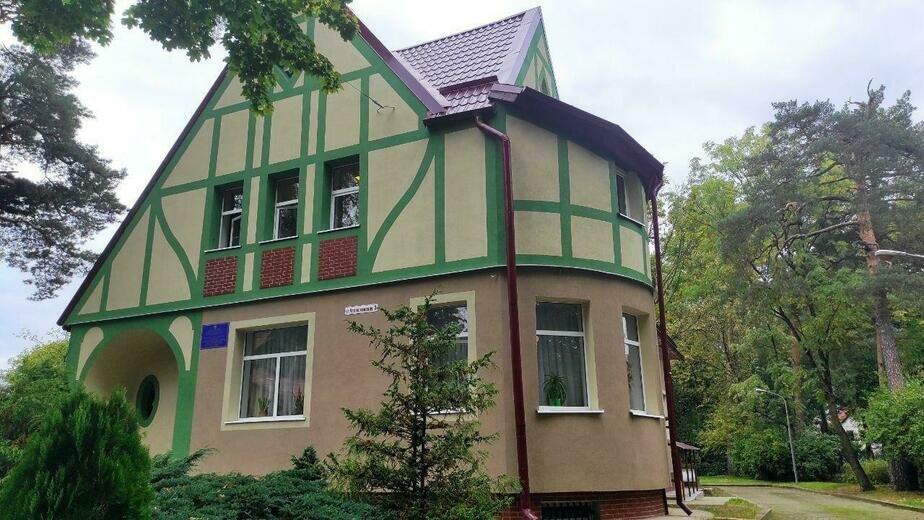 В Калининграде фасад музыкальной школы отремонтировали в стиле Восточной Пруссии  - Новости Калининграда   Алёна Пятраускайте